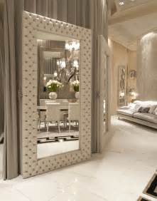 luxe home interior luxe italian designer tufted leather floor mirror custom quotes via customorders instyle