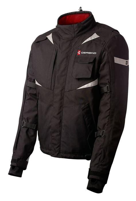 heated motorcycle clothing gerbing 12v ex heated jacket revzilla