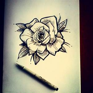 | #tattoo #design #rose #instatattoo #tattooed #ink...