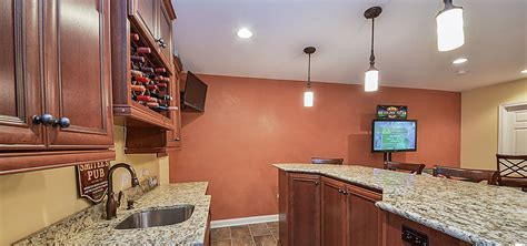 wood tile kitchen 5 finished basement ideas to create a space for your