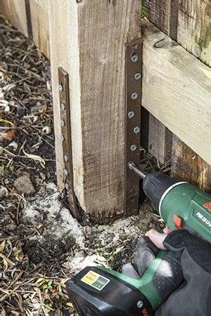 post buddy fence post repair system fence post repair
