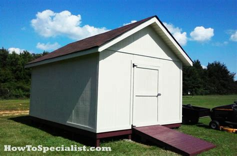 diy 12x16 storage shed plans diy 12x16 shed howtospecialist how to build step by