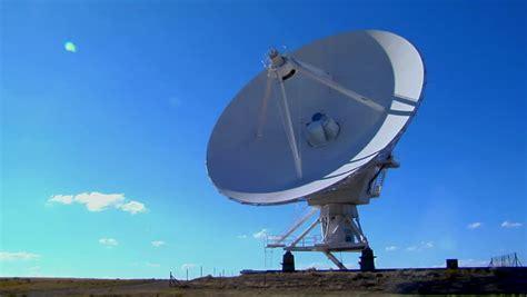 cuisine satellite large array satellite dishes at twilight in