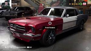 Need for Speed Payback Derelict Car Part Locations Ford Mustang 1965 customization - YouTube