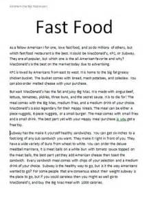 cause and effect essay junk food how to do an argumentative cause and effect essay junk food