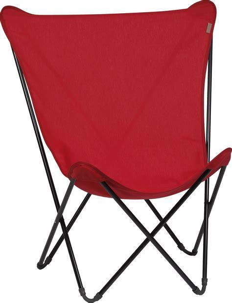 toile de rechange pour fauteuil maxi pop up rouge garance
