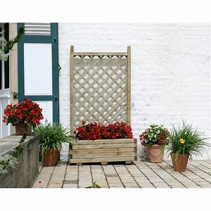 Jardinière Avec Treillage : bac treillage achat vente de bac pas cher ~ Melissatoandfro.com Idées de Décoration