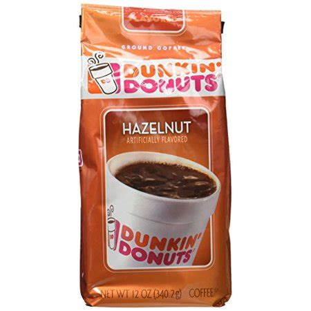 It's time to wake up and smell the dunkin donuts hazelnut coffee! Dunkin' Donuts Hazelnut Ground Coffee, 12 oz - Walmart.com