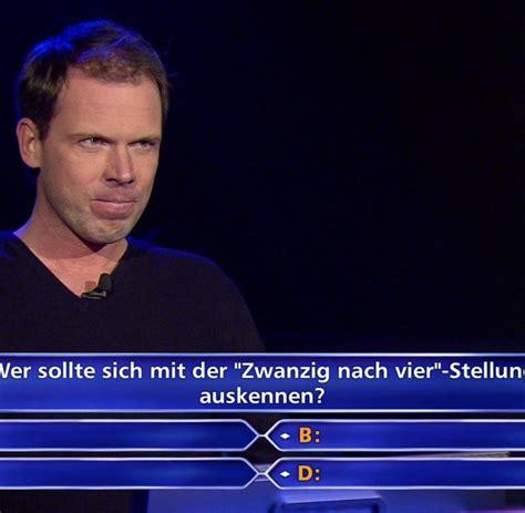 Der arme, fand den nett. Wer wird Millionär?: Jauch-Kandidat weiß Millionen-Antwort ...