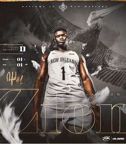 Zion Williamson Pelicans Orleans Lol Redd Pelican