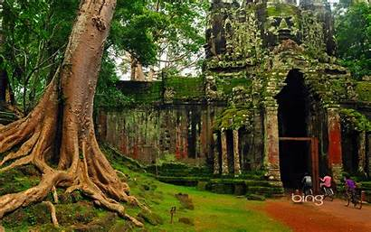 Bing Cambodia Wallpapers Backgrounds Scenery Tours Weekly