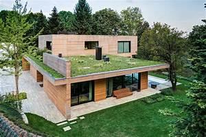 Villa In Legno E Casa Di Design