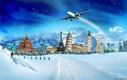 Travel Background Slide Holiday Ppt Powerpoint Backgrounds