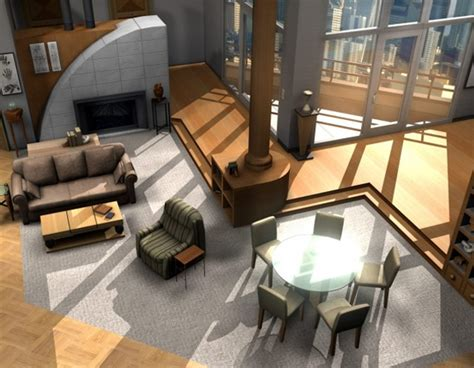 Home Design Tv Shows : 12 Floor Plans Of Apartment From Famous Tv Shows