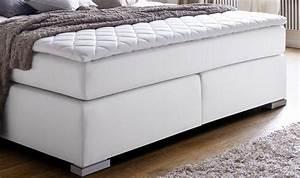 Matratze 70 X 200 : boxspringbett isabelle 160 x 200 cm leder optik wei taschenfederkern matratze kaufen bei oe ~ Watch28wear.com Haus und Dekorationen