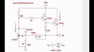 Tl431 Precision Current Regulator Circuit Explained