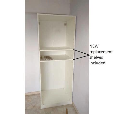 Ikea Cupboard Shelves ikea pax 75x58x201 wardrobe cabinet bookcase cupboard