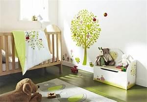 deco chambre bebe vert anis With tapis chambre enfant avec canapé 2 places moelleux