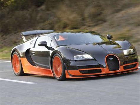Top Speed Of Bugatti Veyron Ss by Bugatti Veyron Supersport Beats Top Speed Record