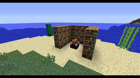 To increase the enchantment level bookshelves should be placed next to the enchanting table while keeping one block of air between them. 8 Images How To Make An Enchantment Table Stronger And ...