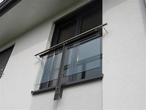 franzosischer balkon stahl verzinkt lackiert mit glas With französischer balkon mit futterhaus garten