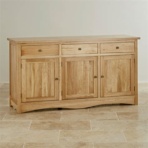 Oak Furniture Land Sideboards by Cairo Large Sideboard In Solid Oak Oak Furniture