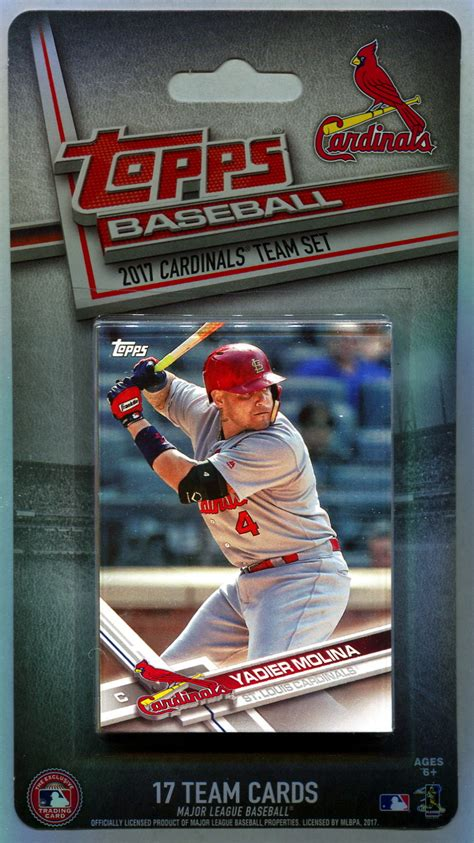 Check out our mlb cards selection for the very best in unique or custom, handmade pieces from our sports collectibles there are 2081 mlb cards for sale on etsy, and they cost sgd 25.77 on average. 2017 St. Louis Cardinals Topps MLB Factory Baseball Cards Team Set