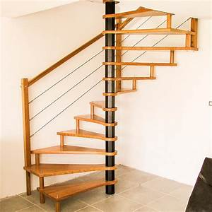 Escalier Colimaçon Pas Cher : escalier helicoidal en bois escalier spirale pas cher ~ Premium-room.com Idées de Décoration