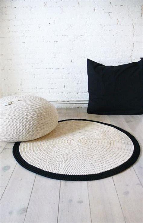 le petit tapis rond belle solution pour les petits espaces