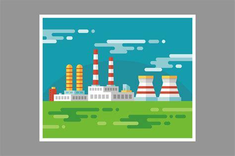 industrial factory illustration illustrations creative