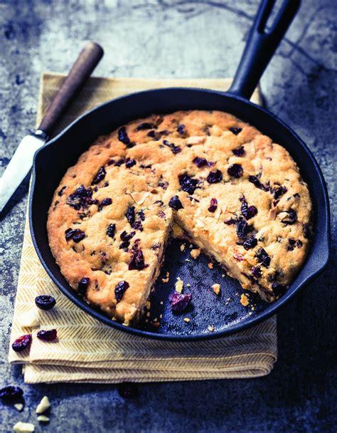 recette de cuisine cookies cookie géant aux cranberries pour 4 personnes recettes