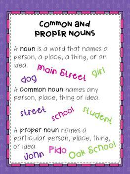 common  proper noun poster freebie   jacob