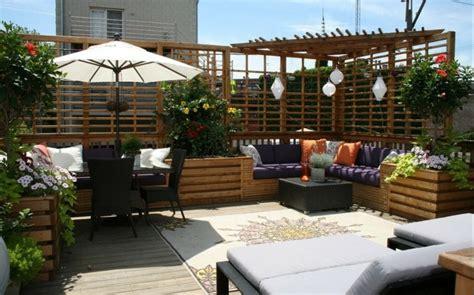 ideas originales  decorar la terraza  imagenes