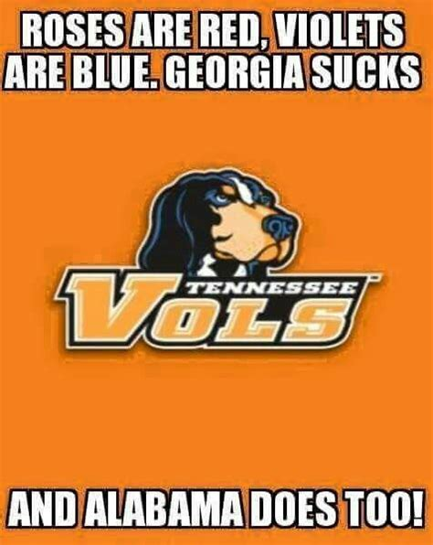 Tennessee Vols Memes - 322 best vol for life