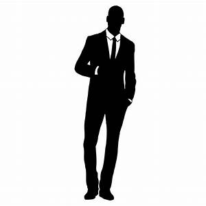 Businessman Silhouette Clip Art (40+)
