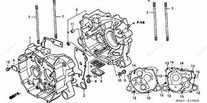 Honda Atv 2002 Oem Parts Diagram For Crankcase