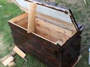 constructions en bois de palette youtube With bassin en bois exterieur