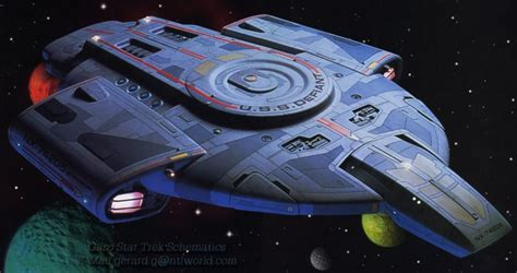 federation starfleet class  defiant class