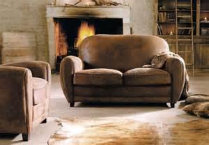 modulares sofa sofá de cuero envejecido estilo vintage imágenes y fotos