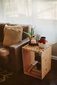 Cute Square Desaign Ideas For Diy Wood Crate With Small
