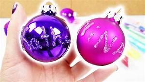 Weihnachtsbaum Mit Rosa Kugeln : weihnachtsbaum schmuck selber machen coole kugeln mit ~ Orissabook.com Haus und Dekorationen