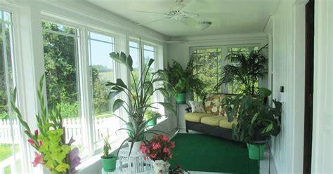 garden fancy sunroom final progress report plants