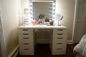 Pictures Bedroom Vanity Sets With Lighted Mirror Best And