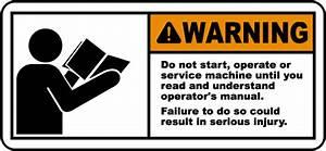 Read  U0026 Understand Manual Label J6406