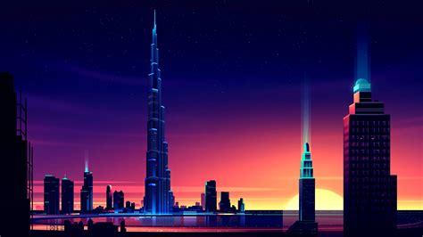 Building Burj Khalifa Dubai