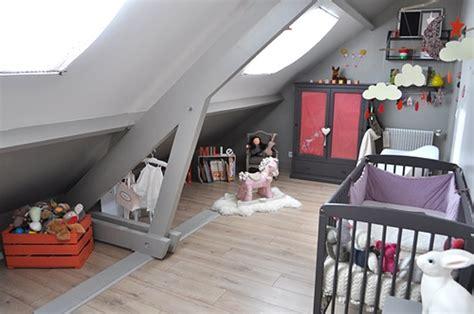 chambre enfant comble d 233 co chambre fille combles