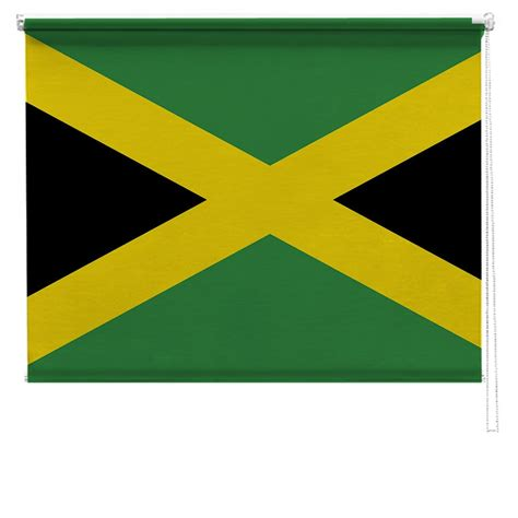 jamaican flag printed blind picture printed blinds