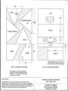 kdpn great homemade sandblasting cabinet plans