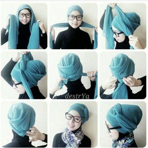 tutorial hijab tutorial hijab pesta pinterest hijabs