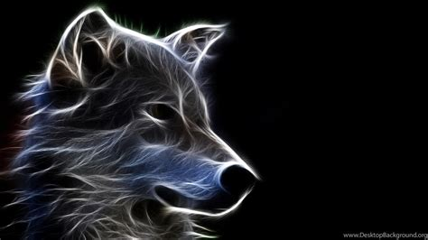 abstract wolf art wallpapers desktop background